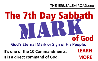 The 7th Day Sabbath MARK of God