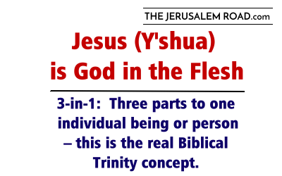 Jesus (Y'shua) is God in the Flesh – the Real Biblical Trinity