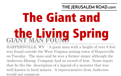 The Giant and the Living Spring – a short story