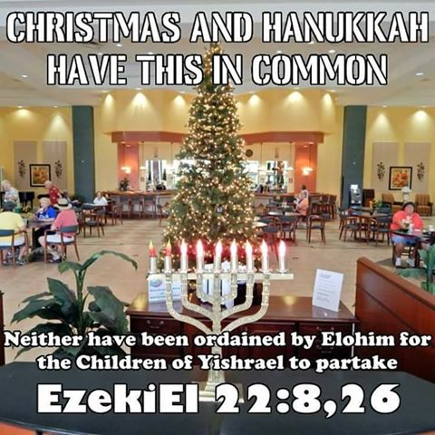 Why I do not Celebrate Christmas and Hanukkah