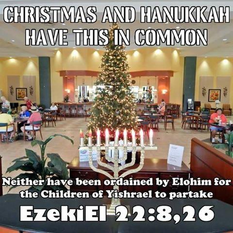 Why I do not Celebrate Christmas and Hanukkah